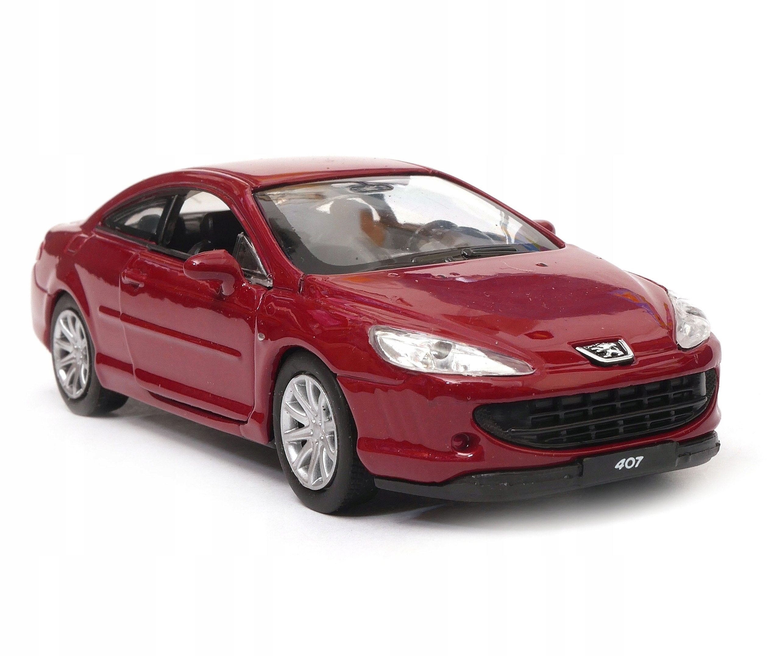 Peugeot 407 Coupe 1 34 39 Model Welly Bordowy 8972082534 Allegro Pl