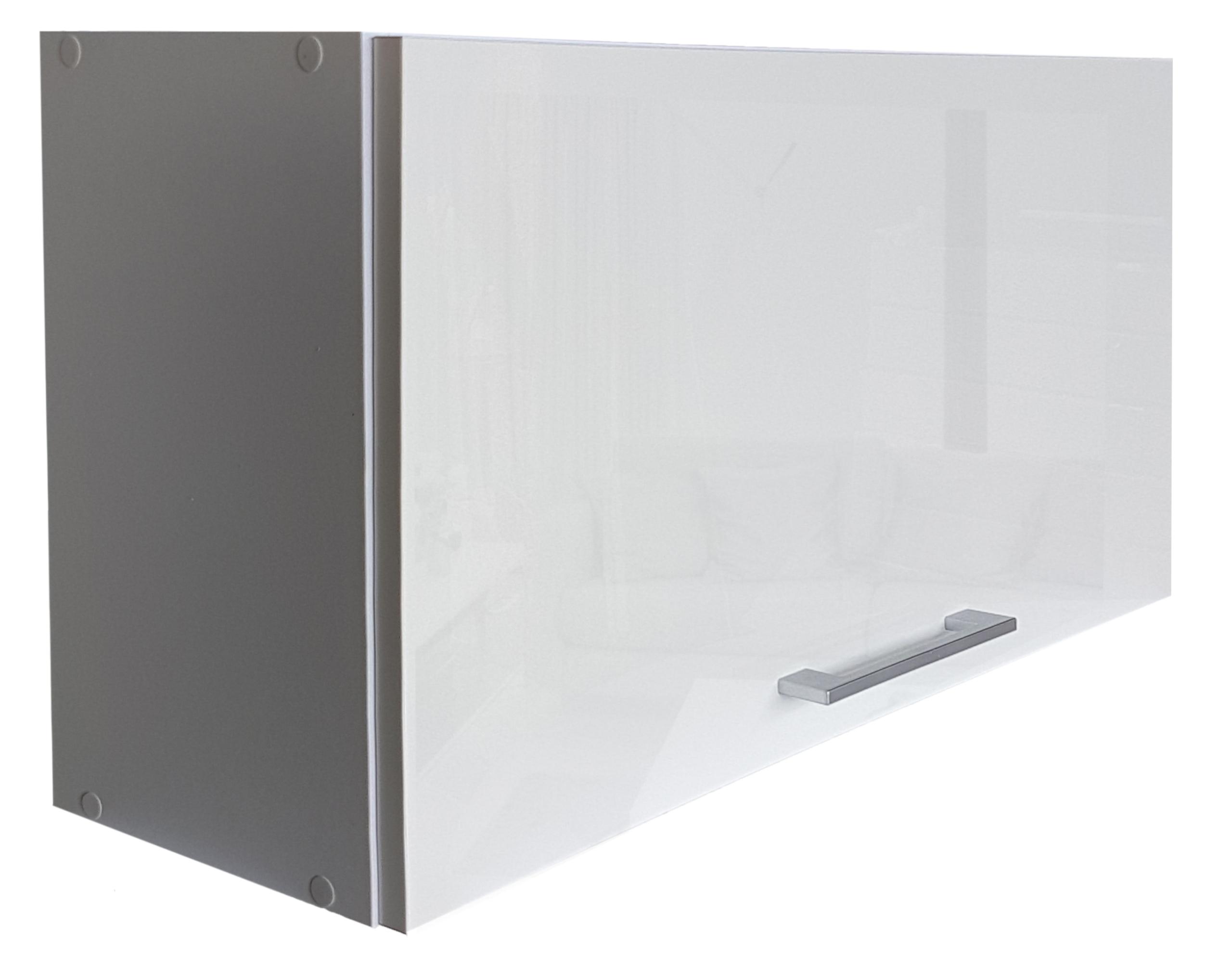 Шкаф кухонный, навесной, люк глянцевый 80