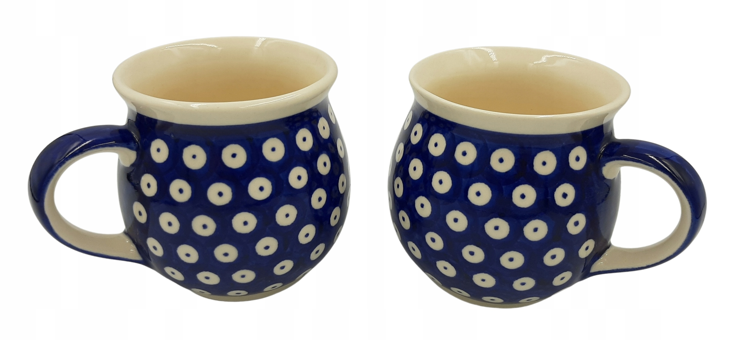 Ceramika Bolesławiec 2 стакана 300 мл