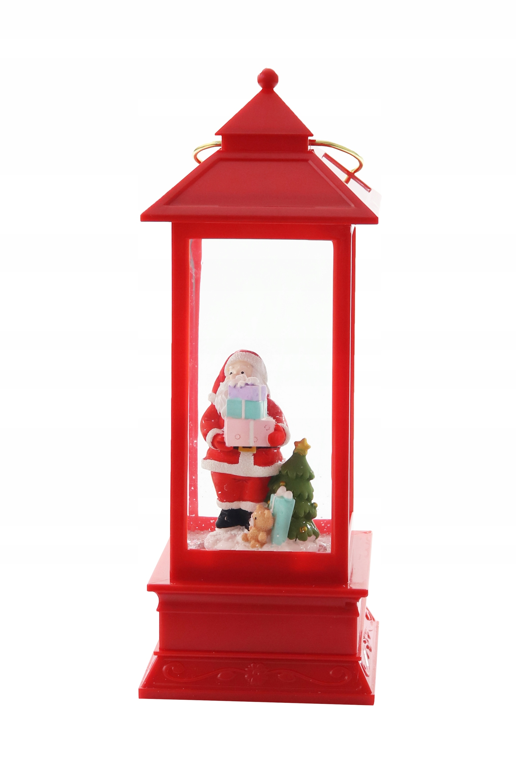 LED lampáš Santa Claus VÁNOČNÉ VIANOCE