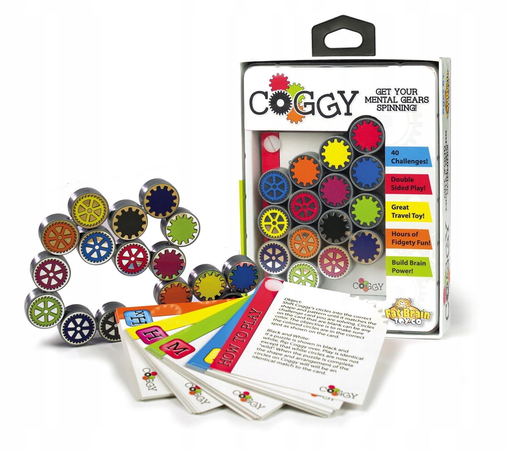 Coggy puzzle dáva vašim šedým bunkám do pohybu