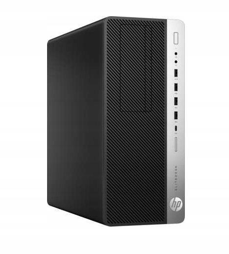 HP EliteDESK 800 G3 tower i5-6500 8 256SSD W10P Kolor czarny
