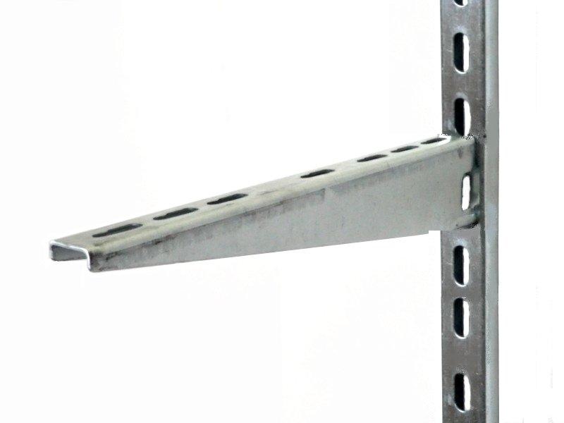 2mm gruby mocwysięgnik półki 30cm bez przykręcania