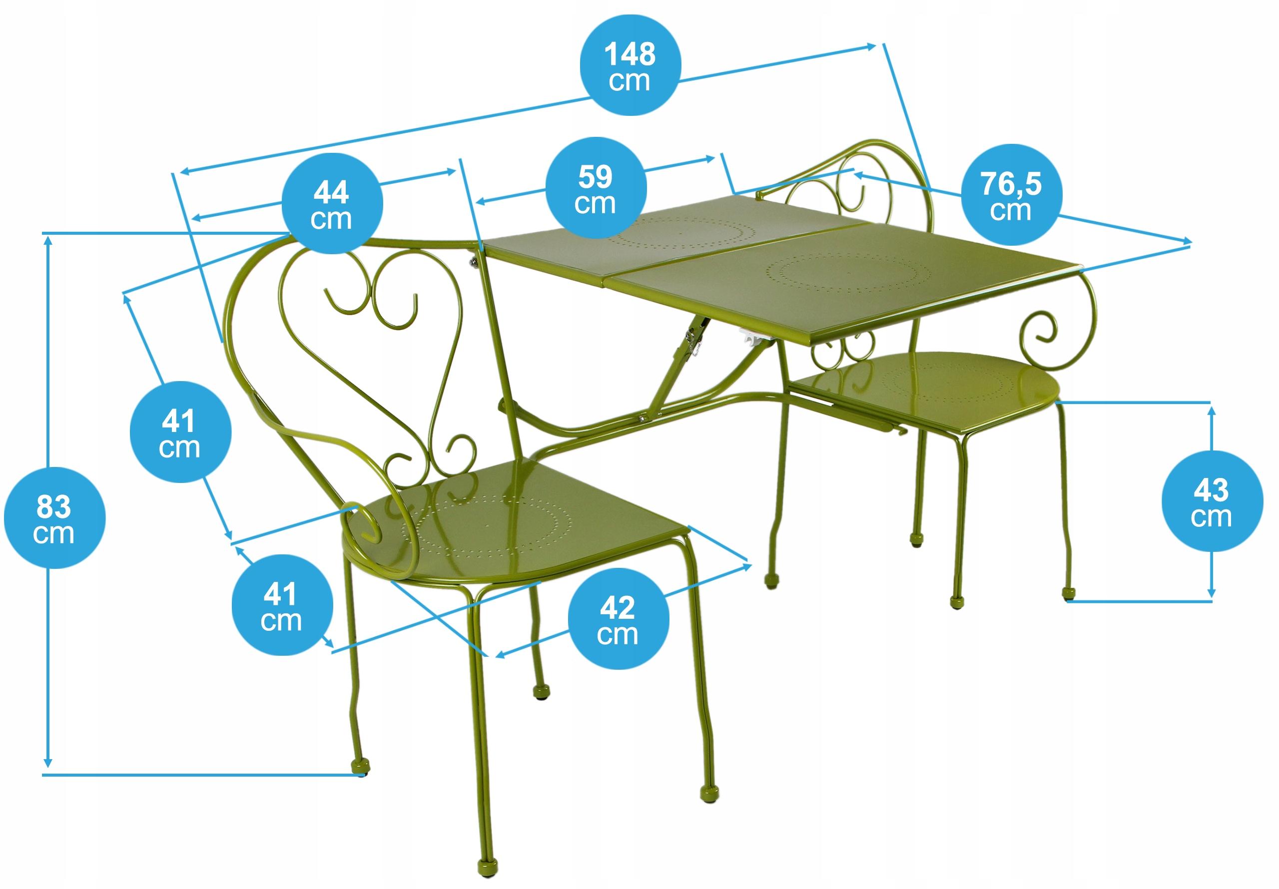 Záhradný balkónový nábytok Nastaviť stolík na stolík Tradičný štýl