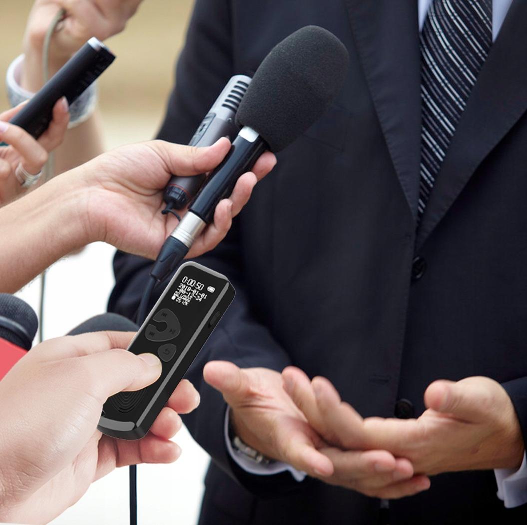 Szpiegowski Dyktafon cyfrowy 1024Kbps 8GB detekcja Wbudowana pamięć 8 GB