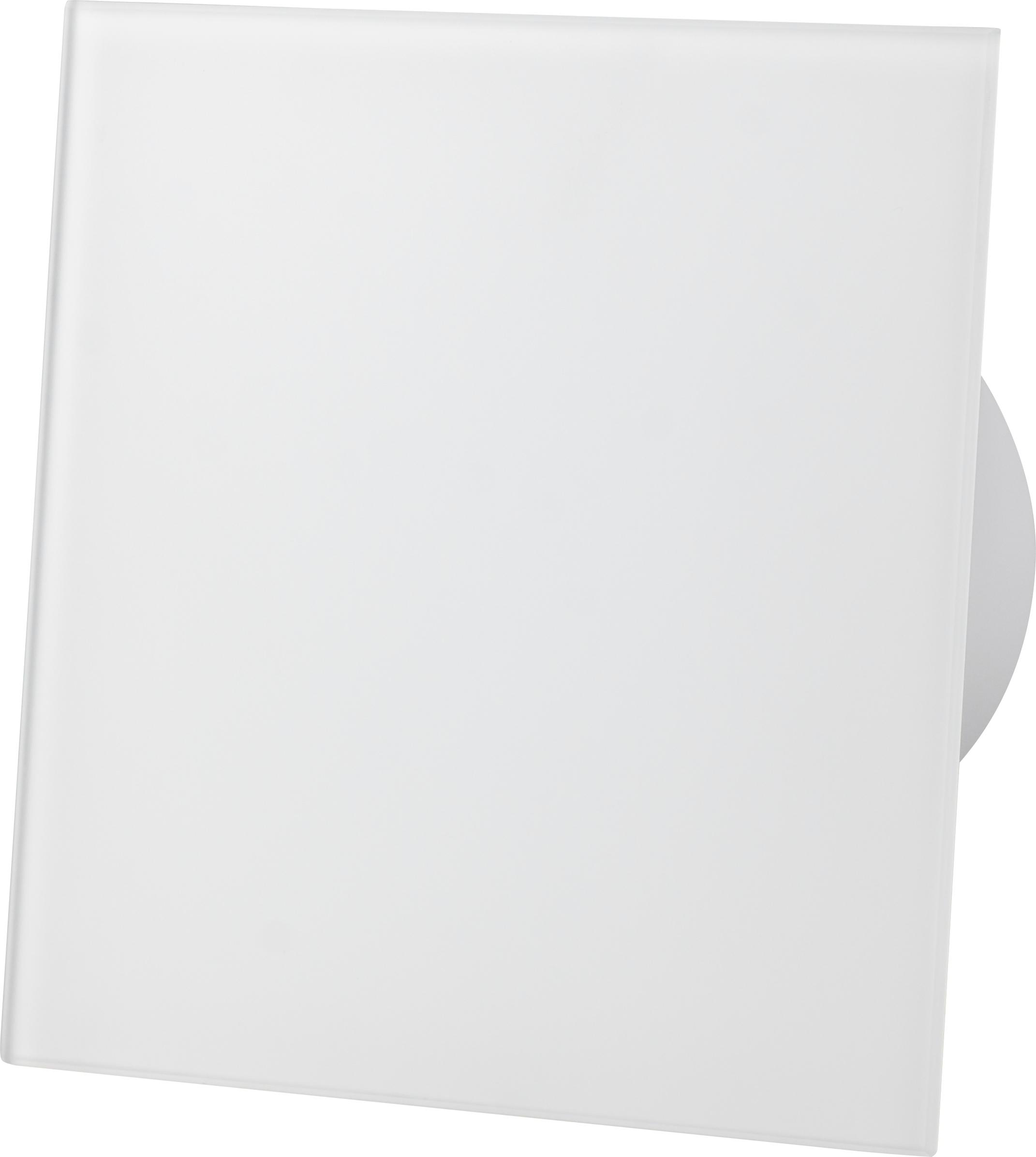 Kratka wentylacyjna 150x150mm biały mat szkło