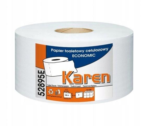 KAREN F52799 Papier toaletowy Celuloza 2W 12szt.