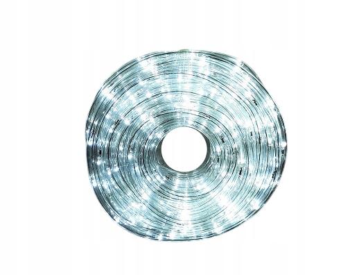Svetelná páska LED svetelná hadica 20m svetlá biela s