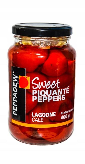Owoce Piquante PEPPADEW świetne na pizze 400g