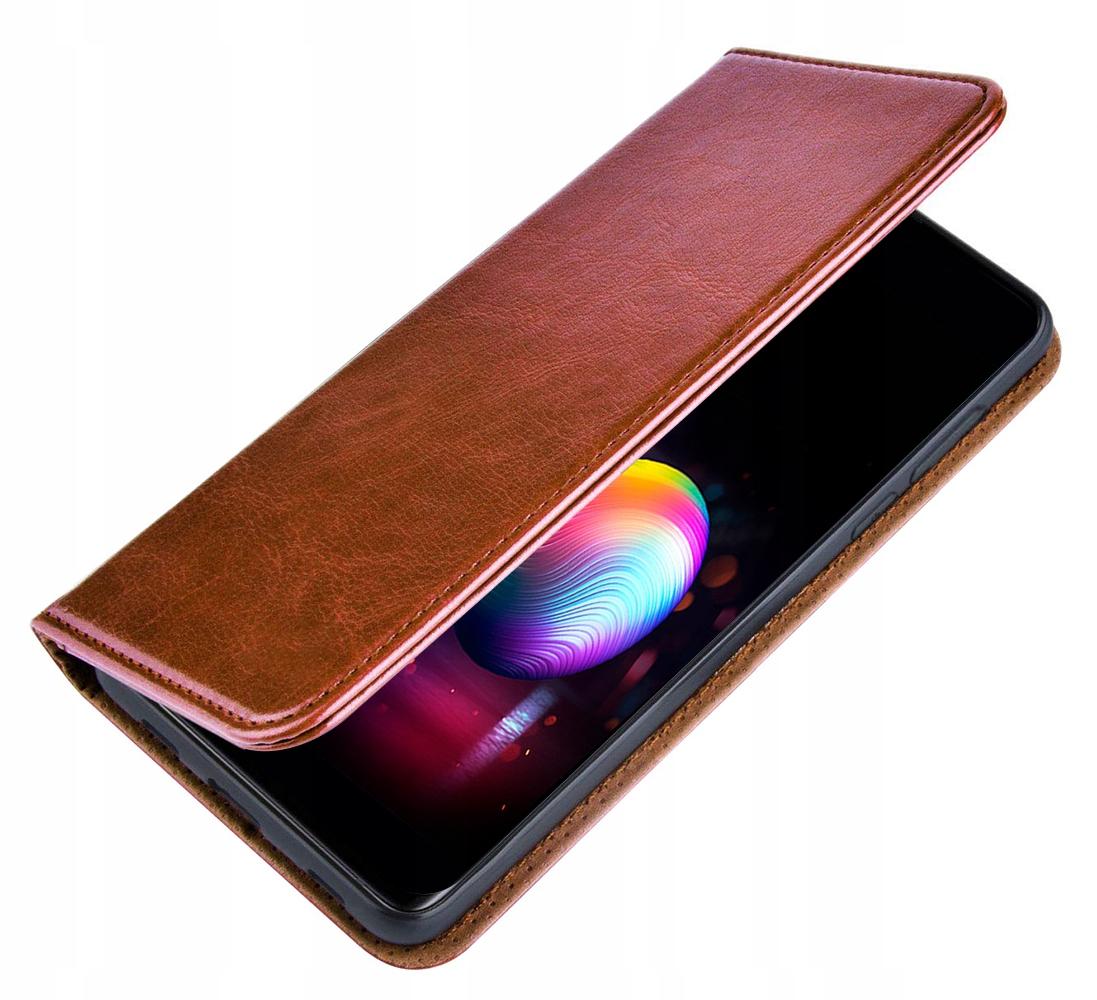Etui do iPhone 12 Pro Skórzane Portfel + Szkło 9H Dedykowany model IPHONE 12 PRO