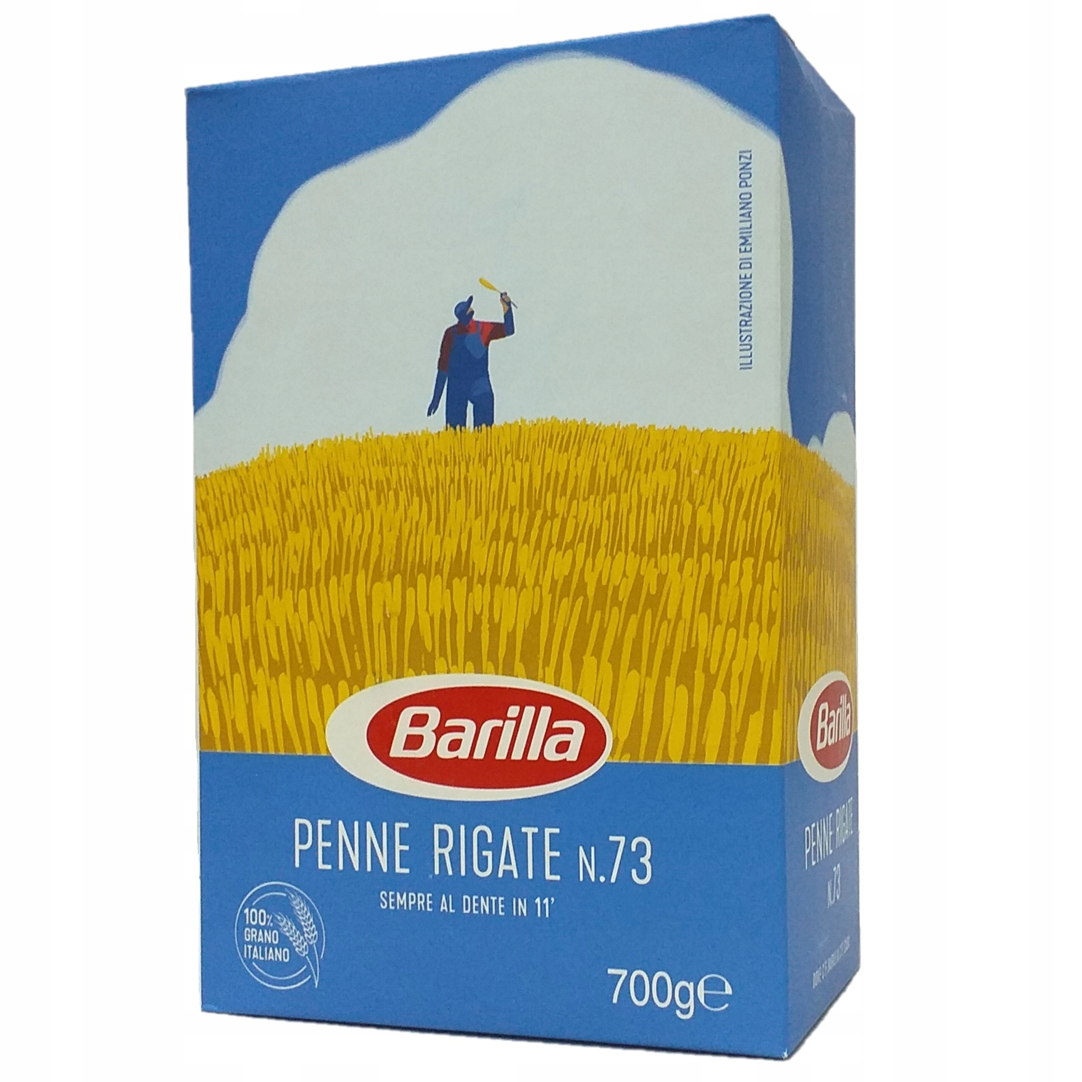 Barilla Penne Rigate 700гр оригинальная итальянская паста