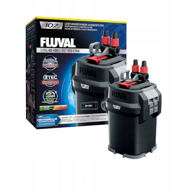 HAGEN FLUVAL 107 FILTR ZEWNĘTRZNY DO AKWARIUM 130L