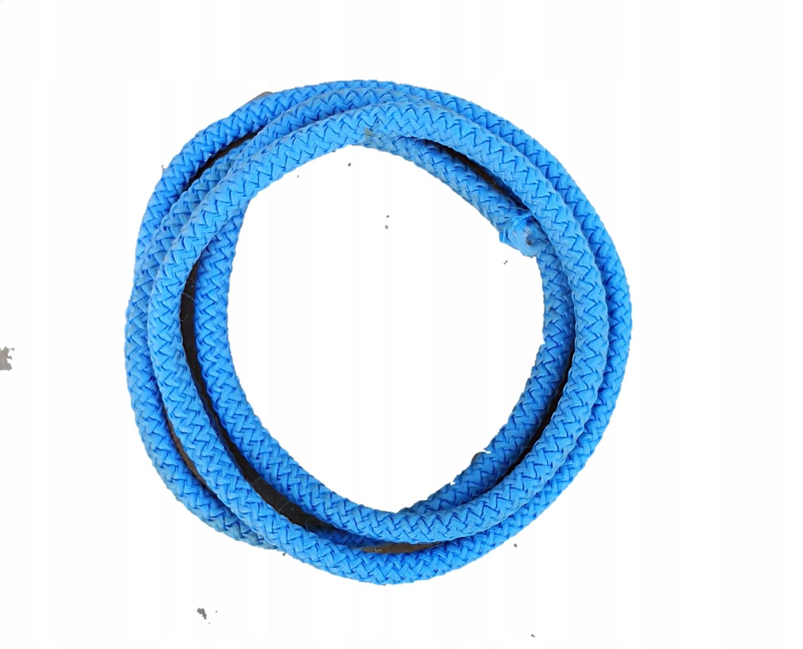 guma okrągła, gumosznurek 3mm 50m niebieski