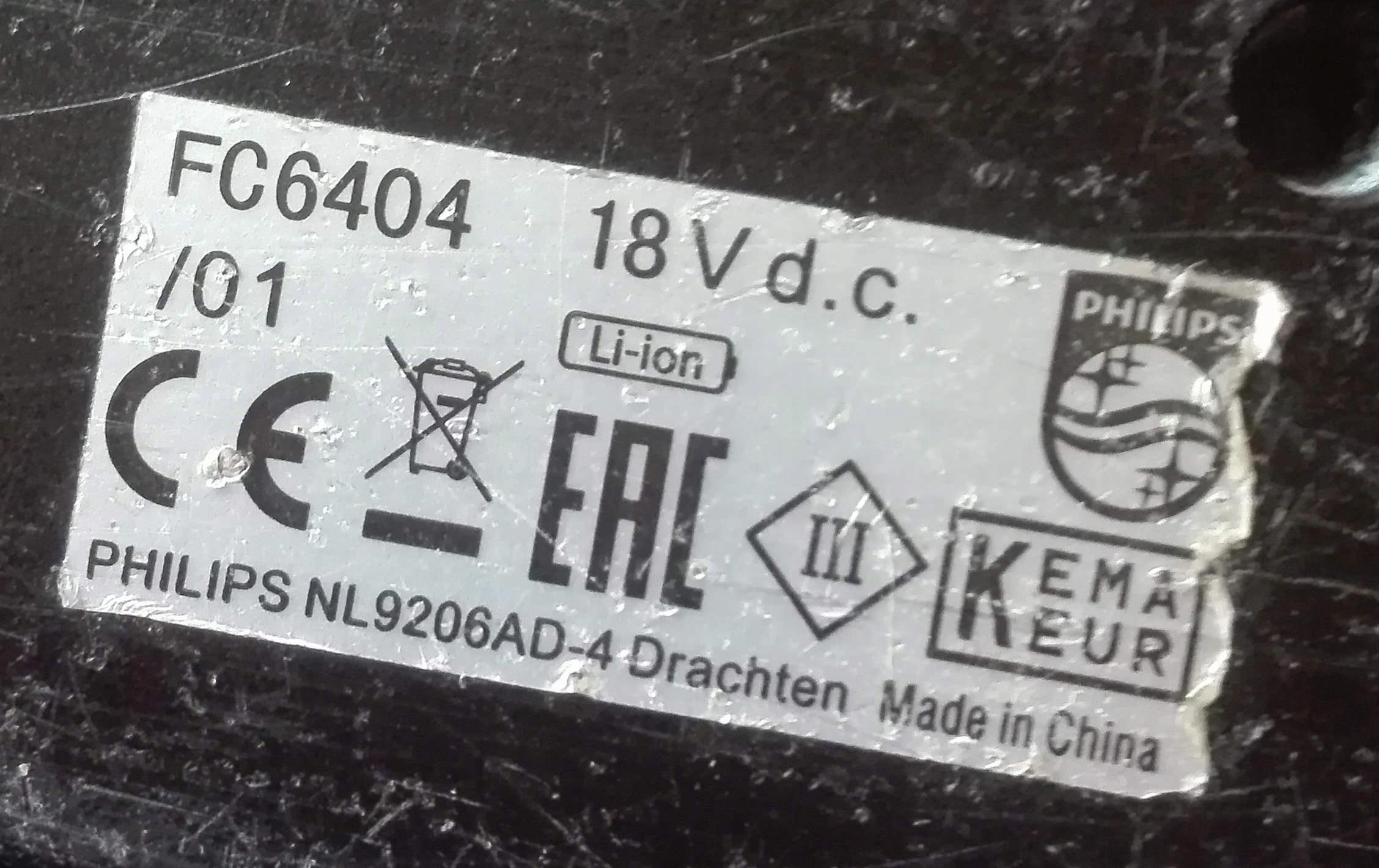 ładowarka Philips PowerPro Duo 2-in-1 FC6169/01/F Producent XTD