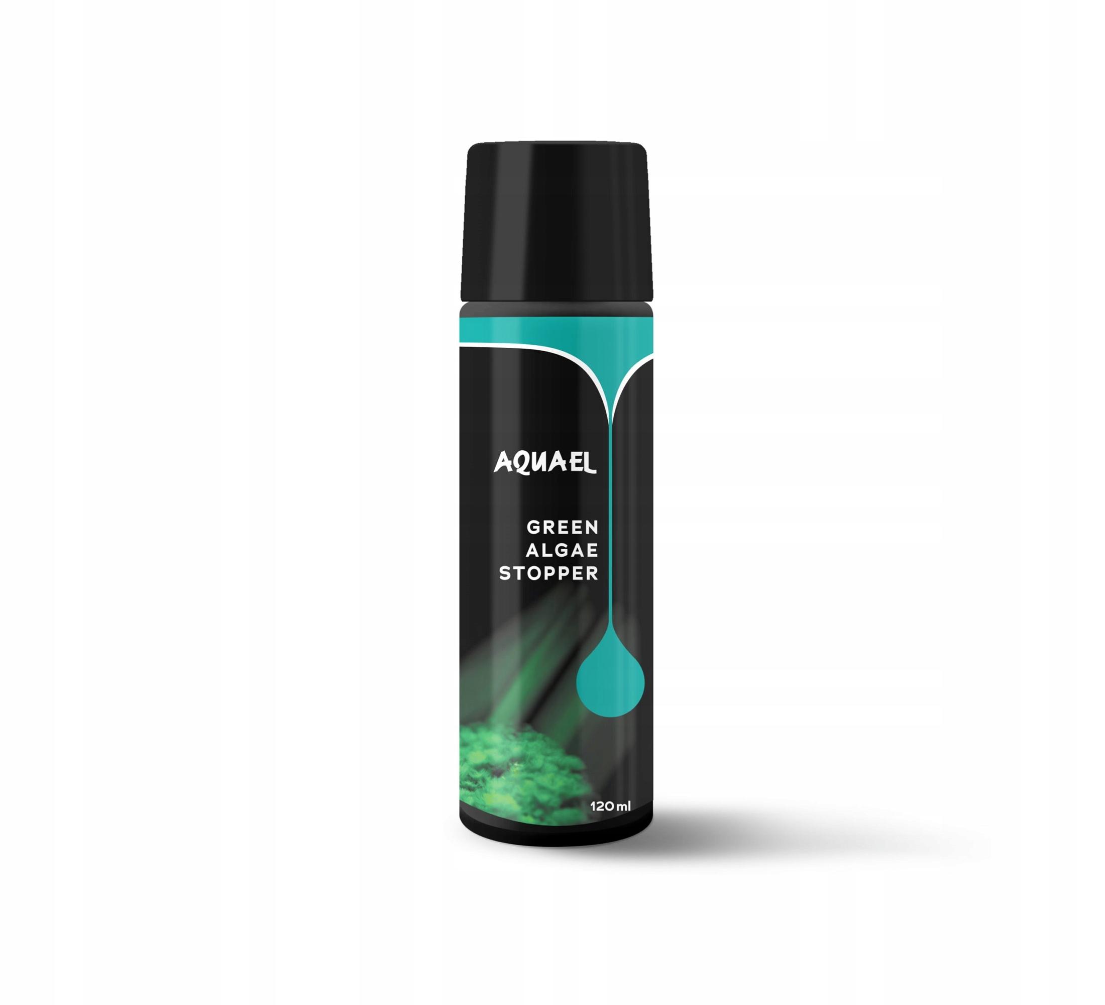 Aquael Green Algae Stopper 120 мл - восстанавливает прилив