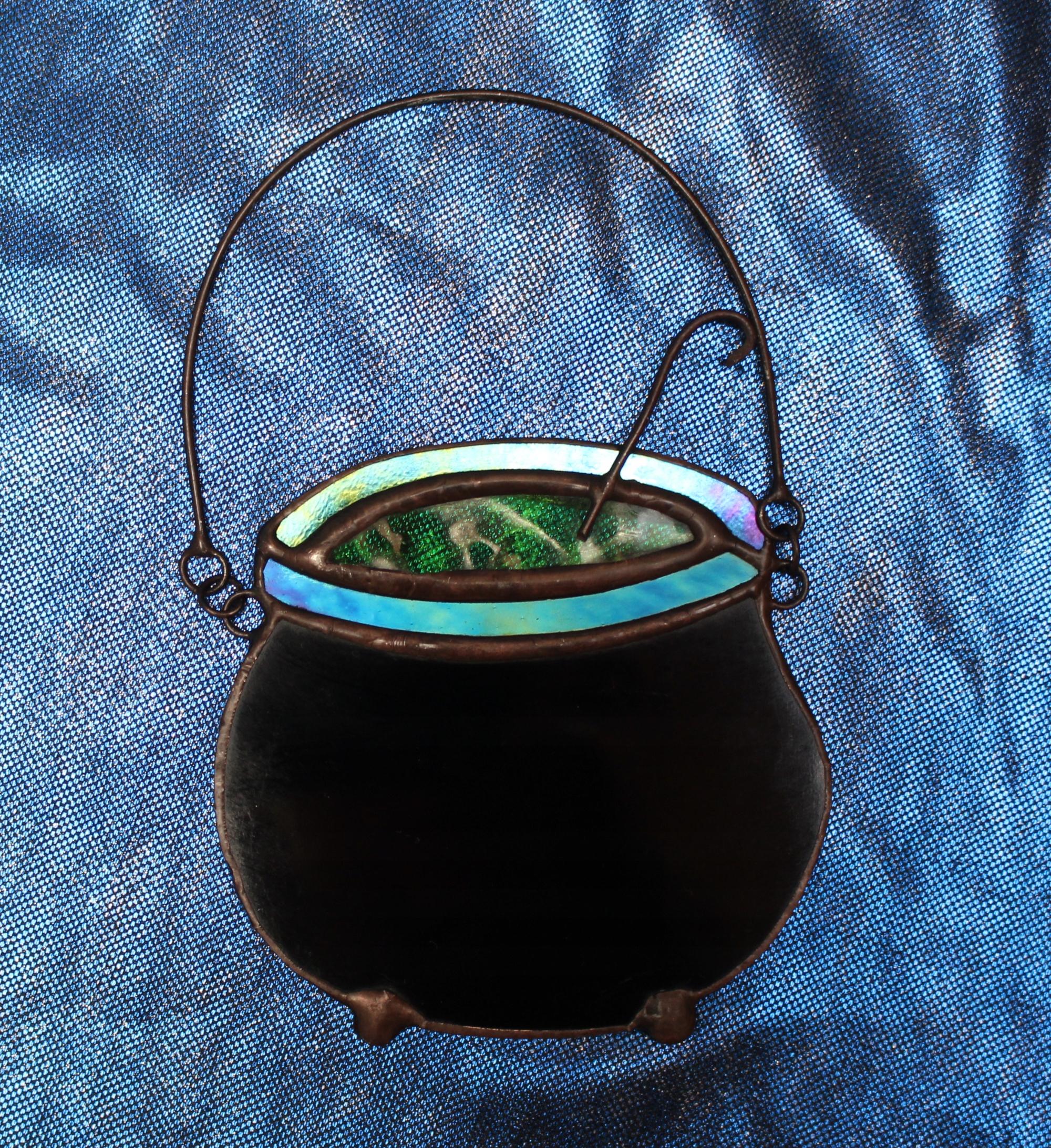 Хэллоуин украшение котел ведьмы темное украшение