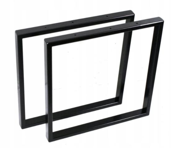 38x38 profil 2x3 noga do stolika metalowa Loft