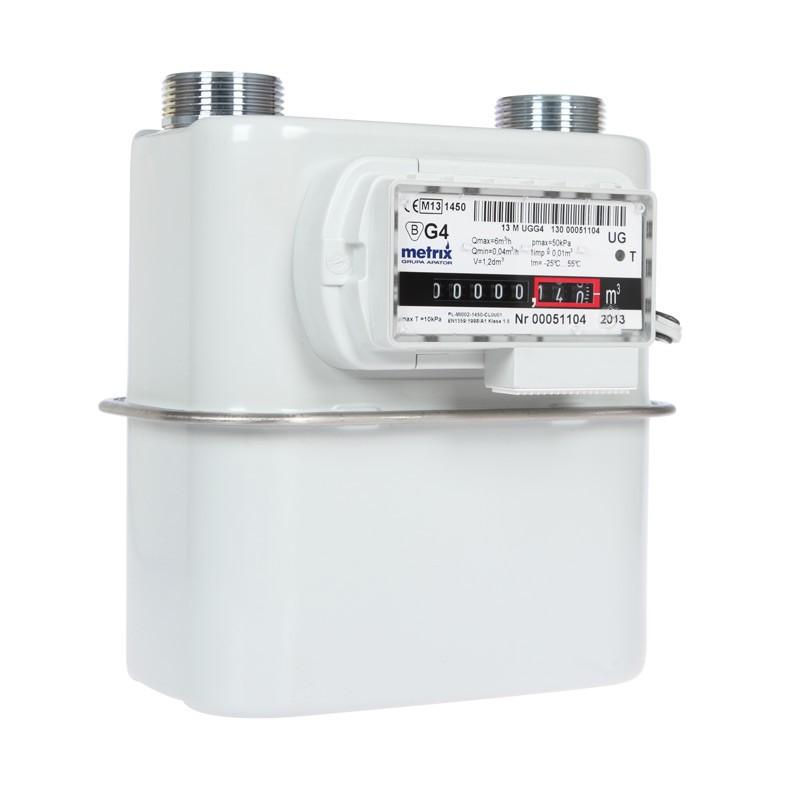 Счетчик газа G4 сильфон Metrix UG L-130 счетчик газа