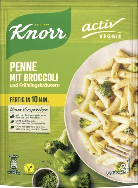 Паста Knorr Penne с брокколи 175г
