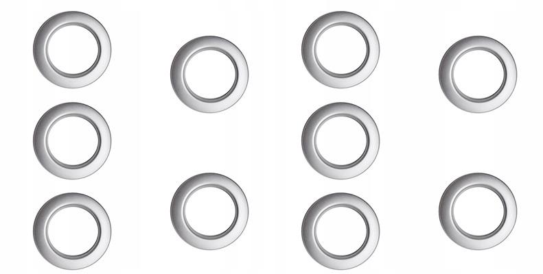 прокладки КОМПЛЕКТ кольца для штор, занавесок, 40х60