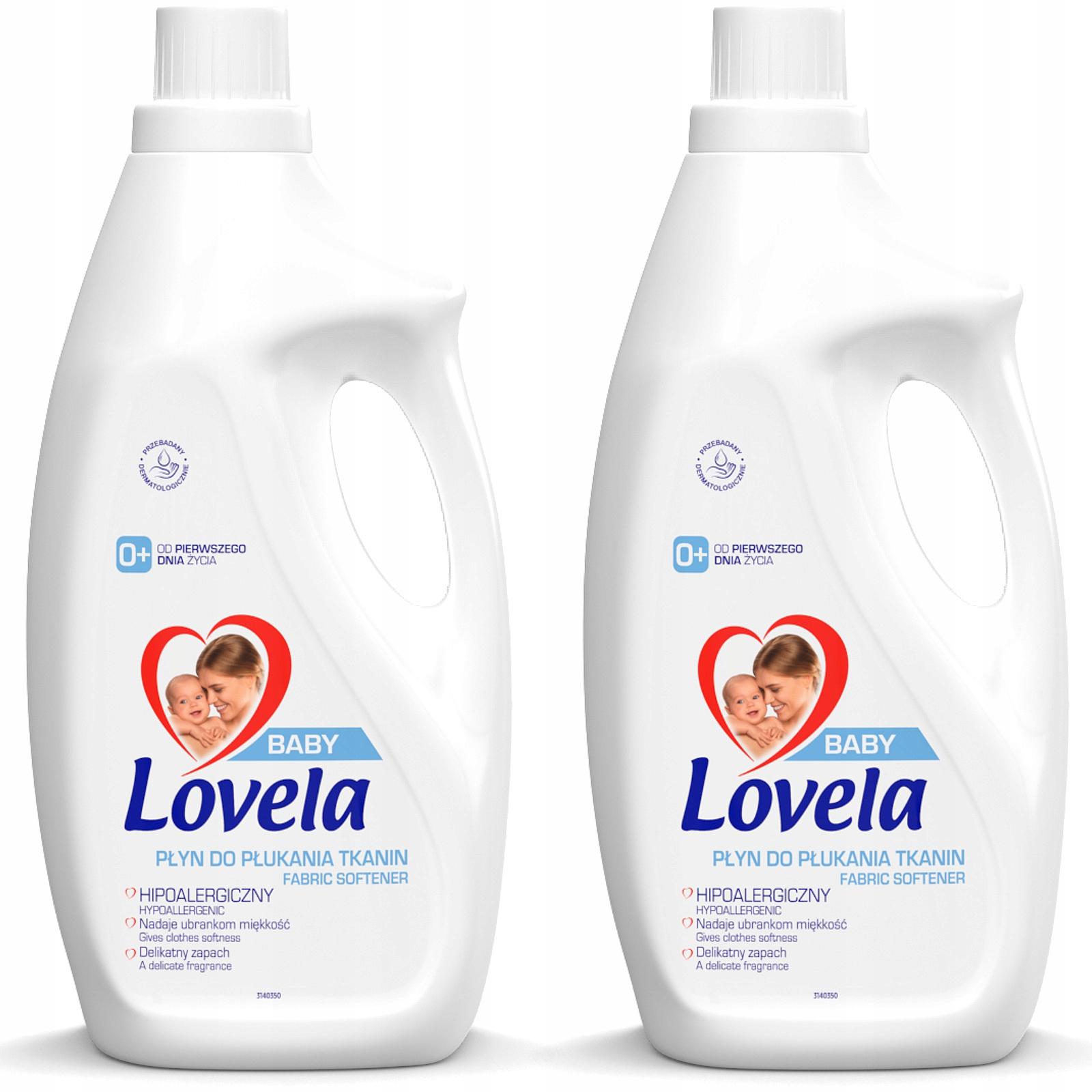 Полоскание Lovela для детей и младенцев 2 x 2 л