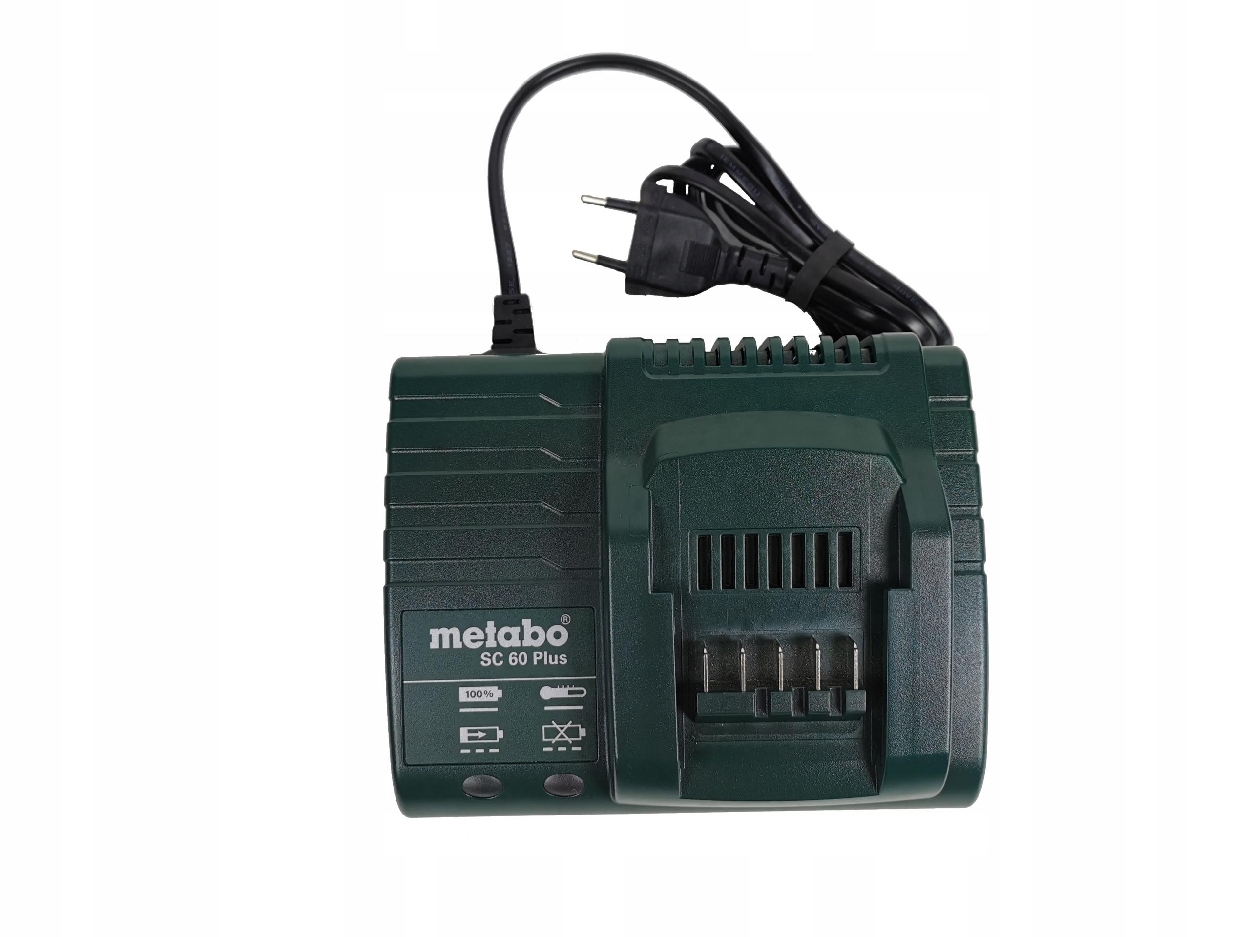 METABO SC 60 Plus ładowarka do aku 10,8 - 18V 1,5A Marka Metabo