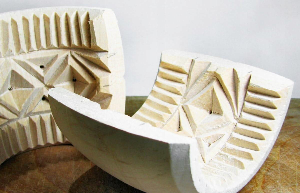 Деревянная форма для осцыпека - большая