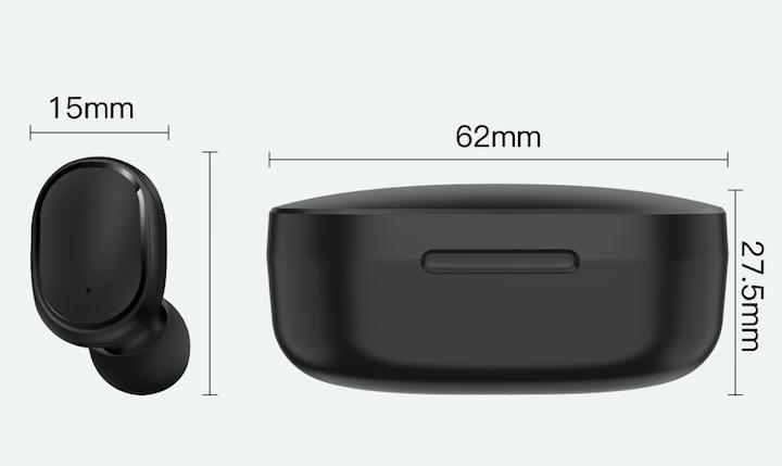Słuchawki Bezprzewodowe 5.0 Android Powerbank Materiał tworzywo sztuczne
