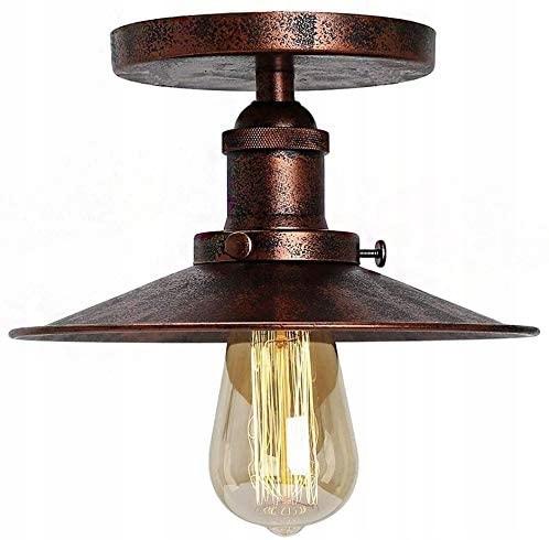 Priemyselná žiarovka Rust Loft E27 Retro