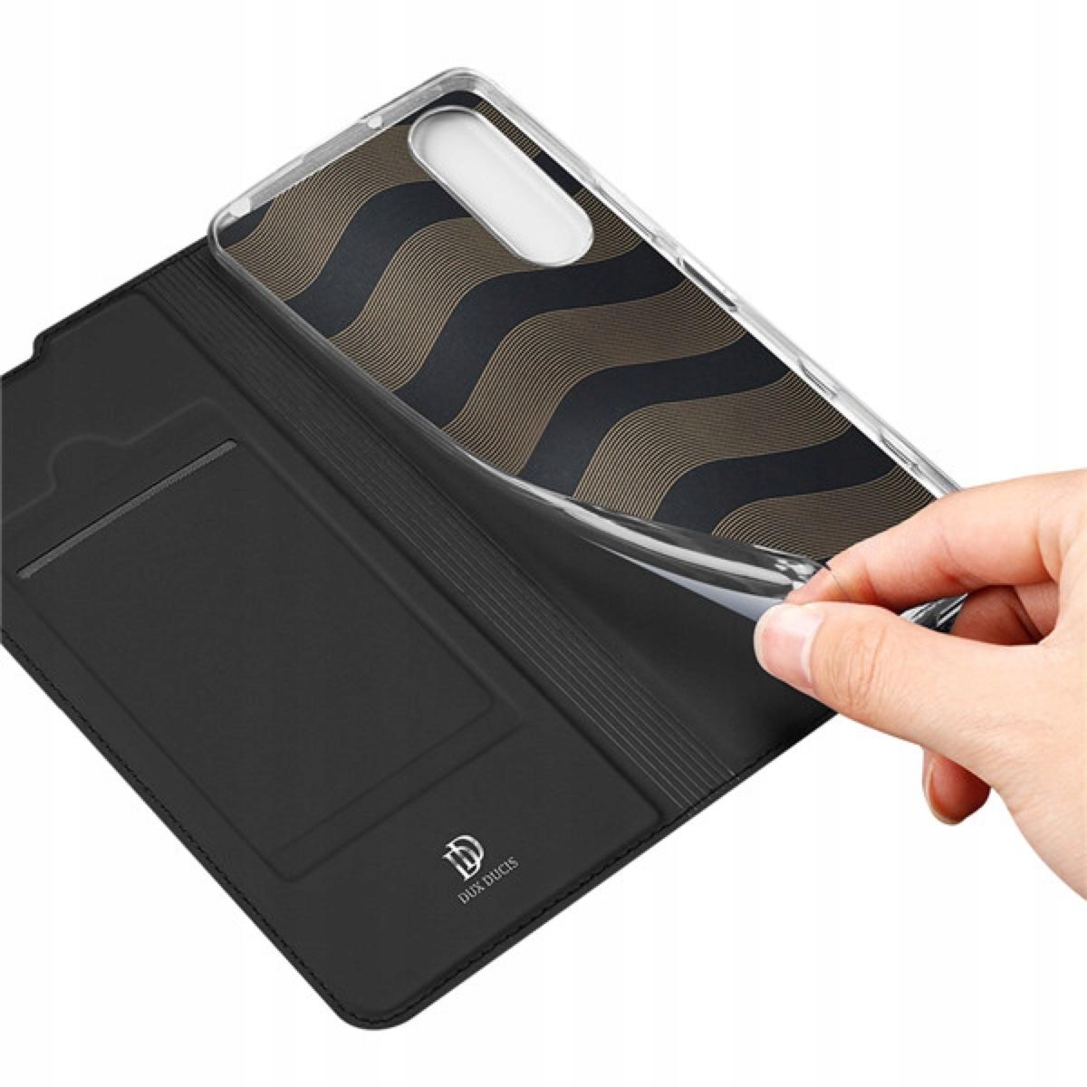 Etui DUX DUCIS + szkło do Sony Xperia 5 II Czarny Kolor czarny