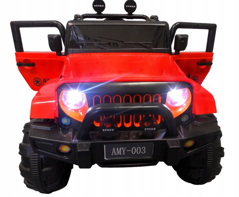 DUŻY JEEP X3 4x4 Auto na akumulator skóra+BUJAK