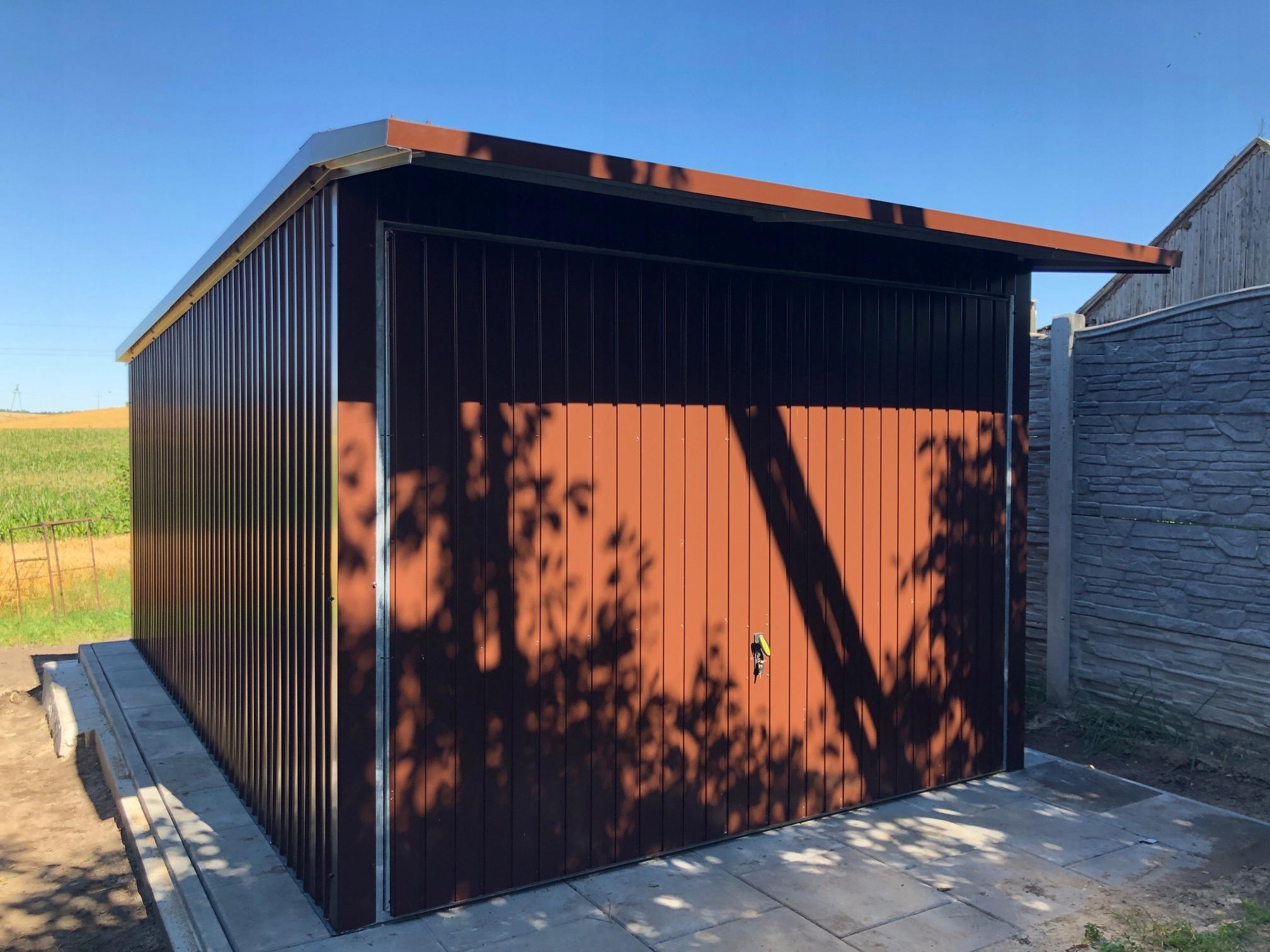 Жестяной гараж 3.00 х 5.00