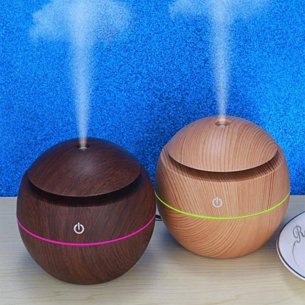 Zvlhčovač vzduchu, difuzér vůně, aromaterapie, účinnost 11 ml / h