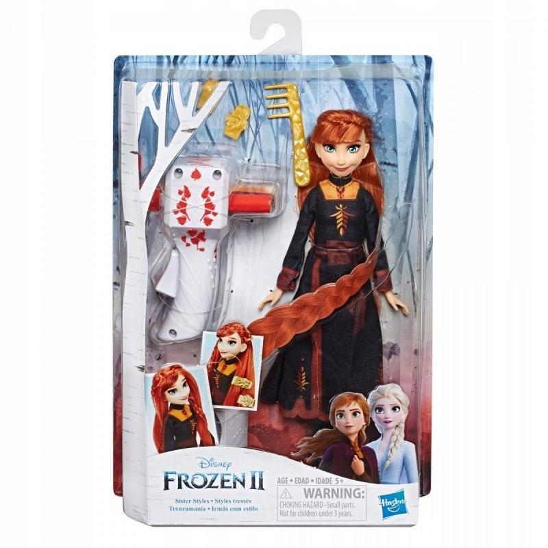 Bábika Hasbro Frozen 2 s kulmou Anna