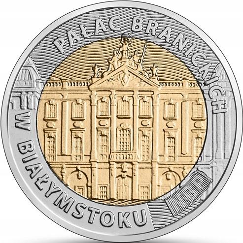 5 zł 2020 Odkryj Polskę - Pałac Branickich