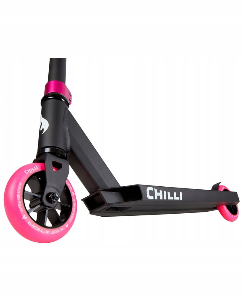 HULAJNOGA CHILLI PRO SCOOTER Base Black/Pink Lekka EAN 4260553240285