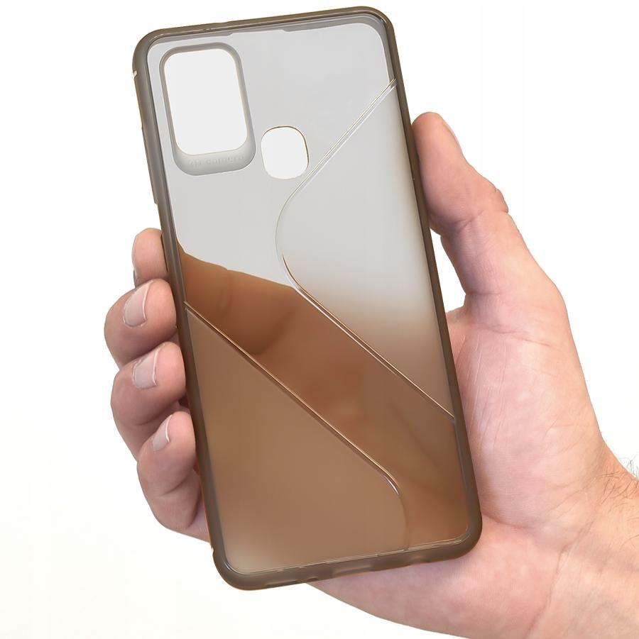 Etui do Samsung Galaxy A21S S-Case + Szkło 9H Dedykowany model Samsung Galaxy A21S