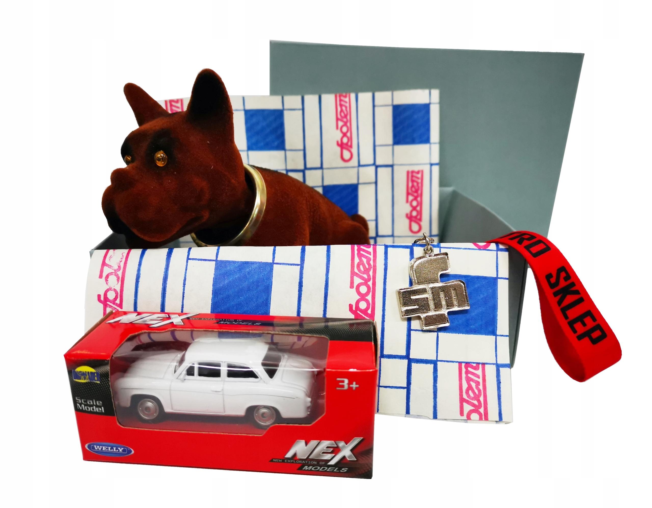 Retro BOX darček SYRENA FSM pes + vychytávky