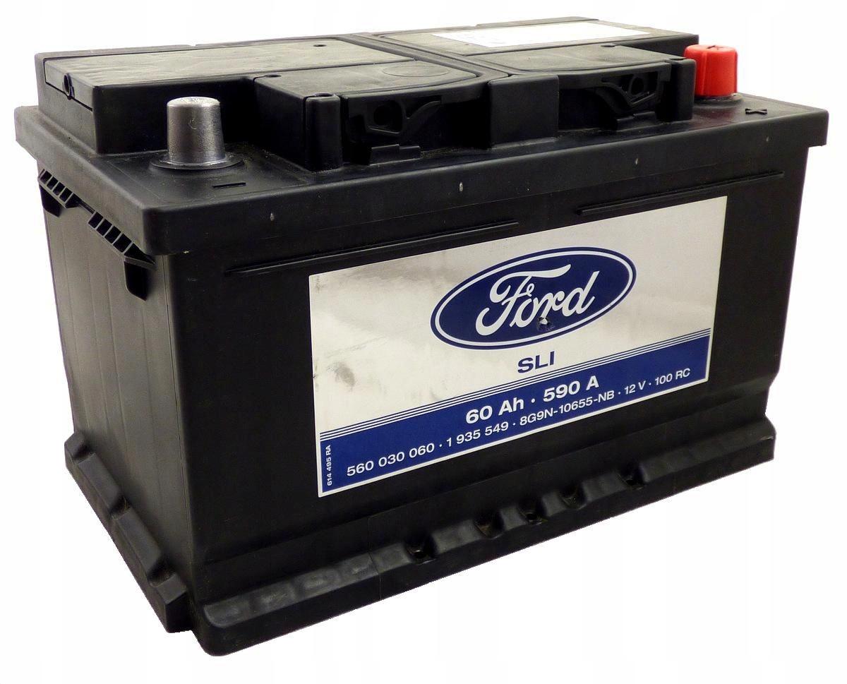 аккумулятор 60ah 590a silver calcium fomoco ford