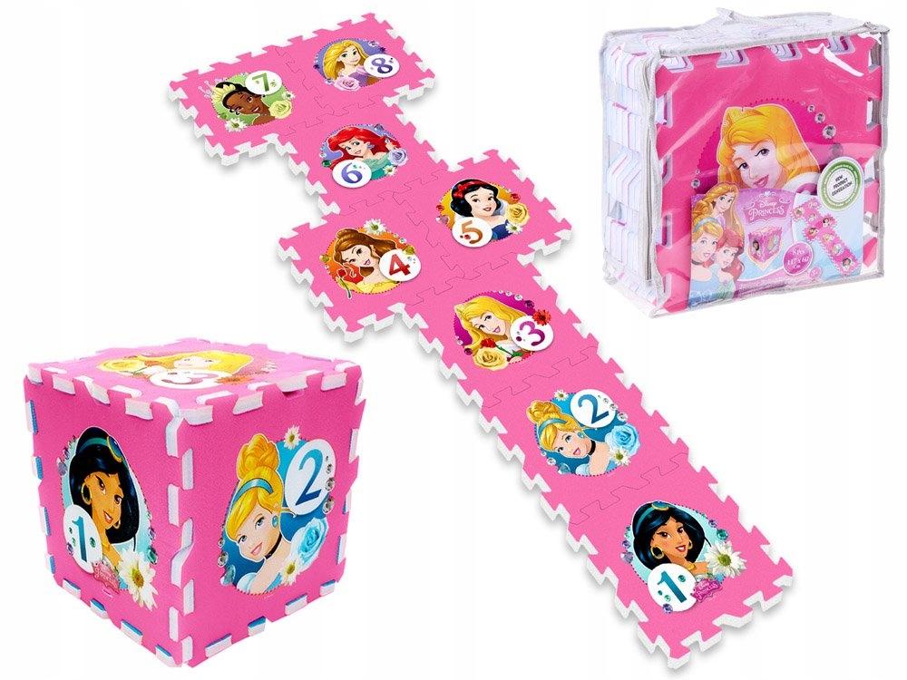 Puzzle piankowe Disney Princess mata 31x31 ZA3154 Marka Disney