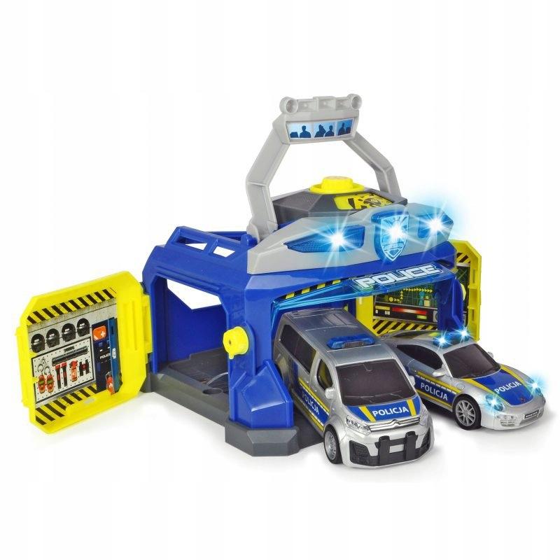 Veliteľstvo policajného velenia Dickie SOS 2xcar