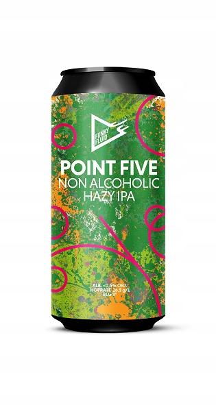 Point Five Hazy IPA банка, 500 мл