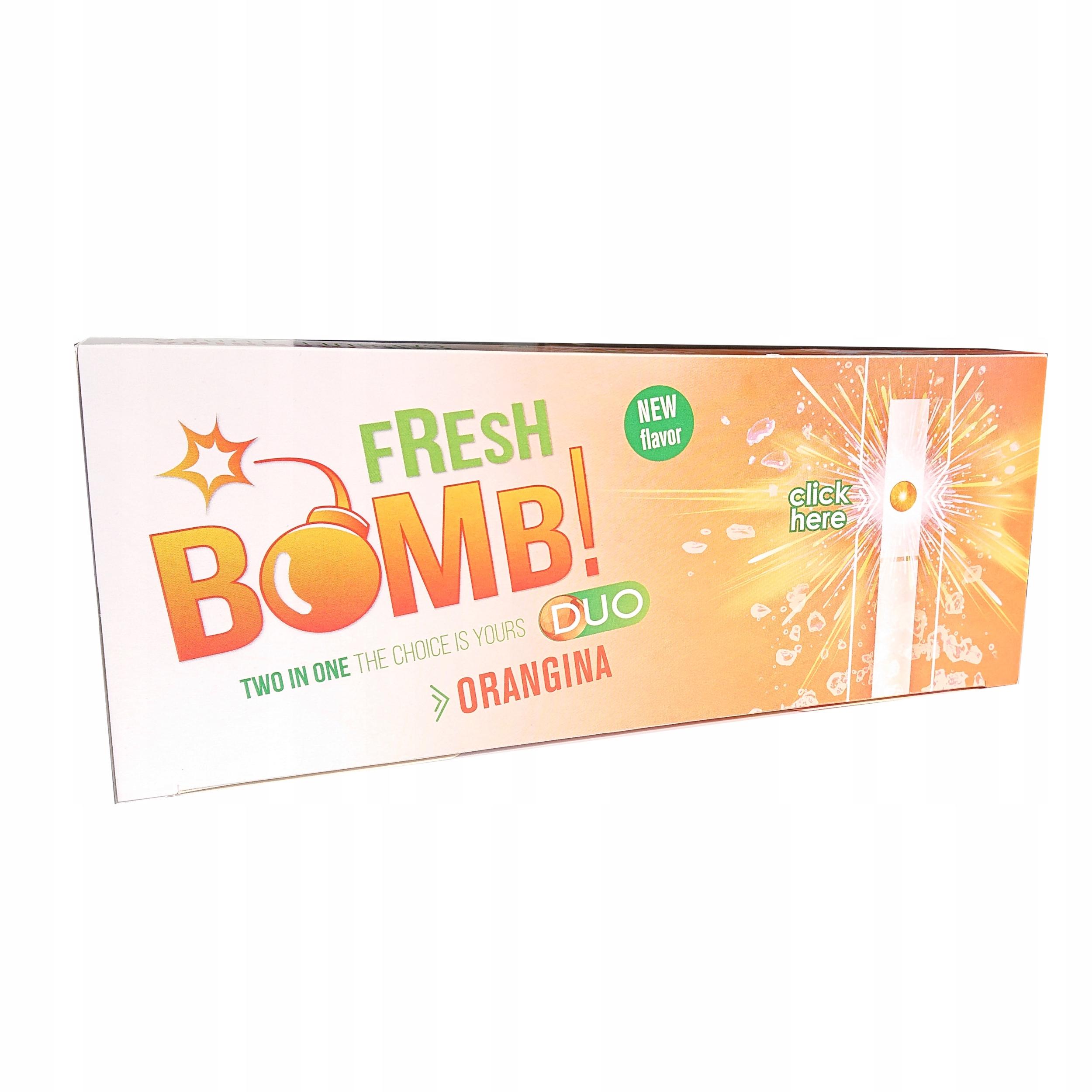 Катушки Fresh bomb Orange Mint клики Клик