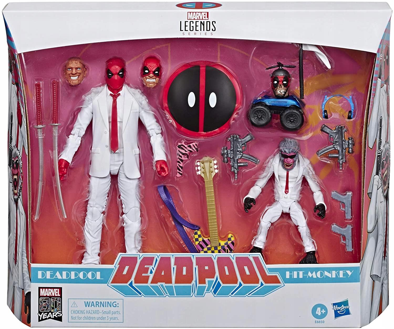 Hasbro Marvel Comics80 Vintage Deadpool Hit-Monkey