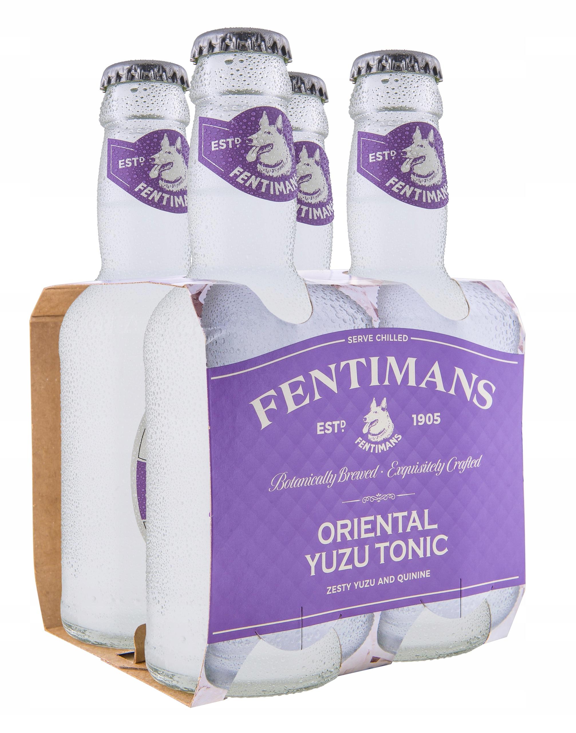 Yuzu Fentimans Tonikum Voda 200 ml x24 tonikum premium