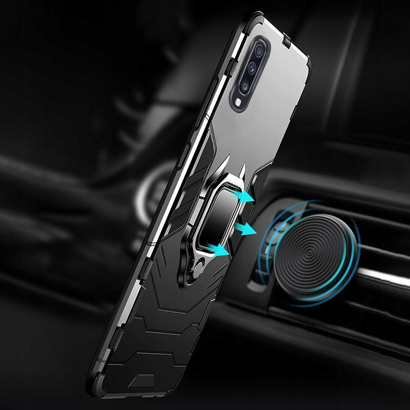 ETUI ARMOR RING HOLDER SZKŁO do Samsung Galaxy A50 Przeznaczenie Samsung
