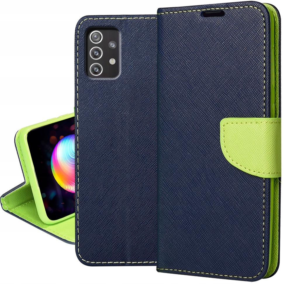 Etui do Samsung Galaxy A52 5G Portfel Case + Szkło