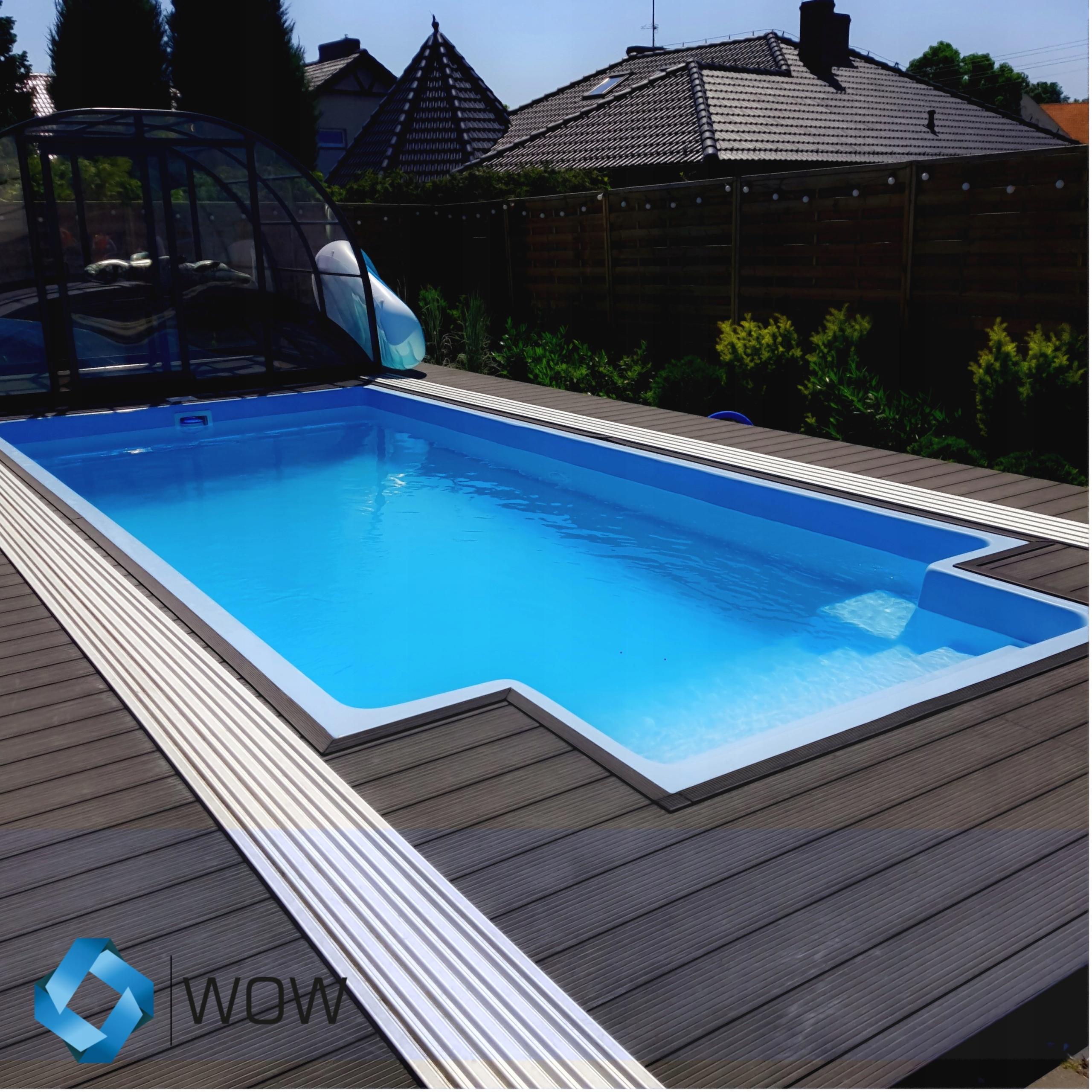 Садовый бассейн из полиэстера 720x320x155 КОМПЛЕКТ -10%