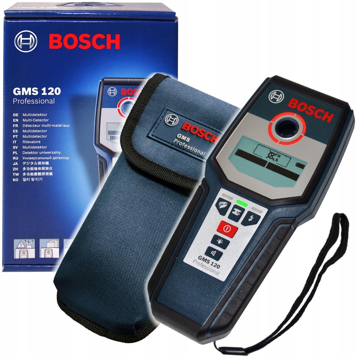 Digitálne kovy a drôty GMS 120 BOSCH