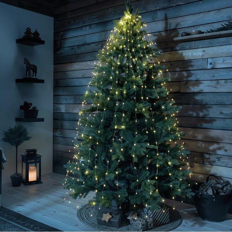 LED svetlá na vianočný stromček 240 kusov